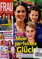 Frau Im Spiegel Weekly Magazine Issue NO 36