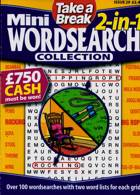Tab Mini 2 In 1 Wordsearch Magazine Issue NO 29