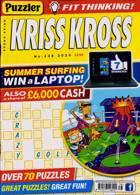 Puzzler Kriss Kross Magazine Issue NO 238