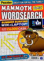 Puzz Mammoth Fam Wordsearch Magazine Issue NO 67