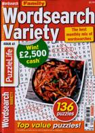 Family Wordsearch Variety Magazine Issue NO 61