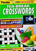 Puzzler Tea Break Crosswords Magazine Issue NO 297