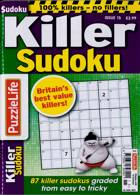 Puzzlelife Killer Sudoku Magazine Issue NO 15
