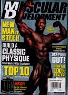 Muscular Development Usa Magazine Issue AUG 20