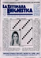 La Settimana Enigmistica Magazine Issue NO 4615