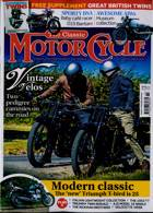 Classic Motorcycle Monthly Magazine Issue NOV 20