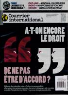 Courrier International Magazine Issue NO 1557