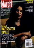 Paris Match Magazine Issue NO 3723
