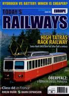 Todays Railways Europe Magazine Issue SEP 20