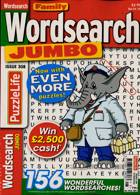 Family Wordsearch Jumbo Magazine Issue NO 308