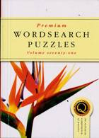 Premium Wordsearch Puzzles Magazine Issue NO 71