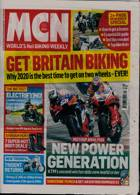 Motorcycle News Magazine Issue 26/08/2020
