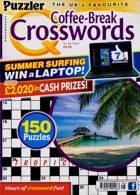 Puzzler Q Coffee Break Crossw Magazine Issue NO 96