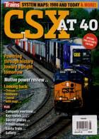 Trains Magazine Issue CSX AT 40