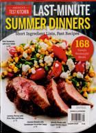 Americas Test Kitchen Magazine Issue SUMDINNER