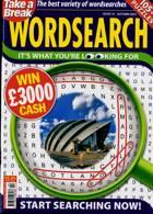 Take A Break Wordsearch Magazine Issue NO 10