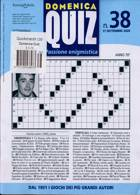 Domenica Quiz Magazine Issue NO 38