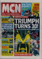 Motorcycle News Magazine Issue 09/09/2020