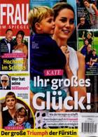 Frau Im Spiegel Weekly Magazine Issue NO 40