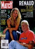 Paris Match Magazine Issue NO 3726
