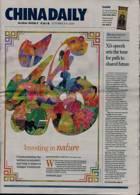 China Daily Europ Edit Magazine Issue 02/10/2020