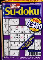 Take A Break Sudoku Magazine Issue NO 11