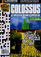 Lovatts Colossus Crossword Magazine Issue NO 346