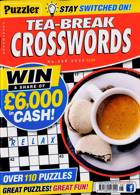 Puzzler Tea Break Crosswords Magazine Issue NO 298