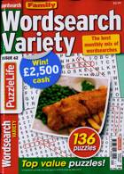 Family Wordsearch Variety Magazine Issue NO 62