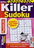 Puzzlelife Killer Sudoku Magazine Issue NO 16