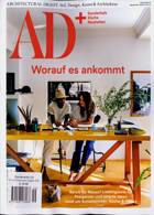 Architectural Digest German Magazine Issue NO 9