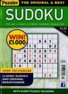 Puzzler Sudoku Magazine Issue NO 207