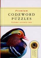 Premium Codeword Puzzles Magazine Issue NO 72