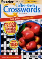 Puzzler Q Coffee Break Crossw Magazine Issue NO 97