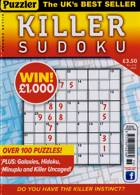 Puzzler Killer Sudoku Magazine Issue NO 176