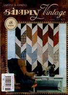Simply Vintage Quilts Crafts Magazine Issue NO 36