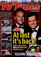 Tv Times England Magazine Issue 05/09/2020