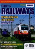 Todays Railways Europe Magazine Issue OCT 20