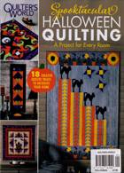 Quilters World Magazine Issue HALLOWEEN