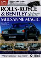 Rolls Royce Bentley Dri Magazine Issue AUTUMN