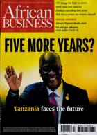 African Business Magazine Issue OCT 20