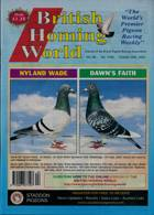 British Homing World Magazine Issue NO 7549