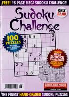 Sudoku Challenge Monthly Magazine Issue NO 196