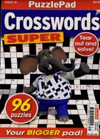 Puzzlelife Crossword Super Magazine Issue NO 31