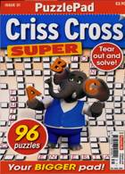 Puzzlelife Criss Cross Super Magazine Issue NO 31
