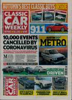 Classic Car Weekly Magazine Issue 07/10/2020