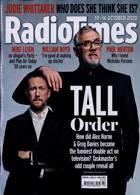 Radio Times London Edition Magazine Issue 10/10/2020