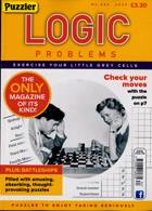 Puzzler Logic Problems Magazine Issue NO 434