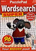Puzzlelife Wordsearch Super Magazine Issue NO 31
