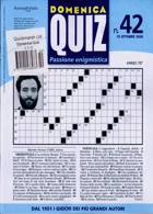 Domenica Quiz Magazine Issue NO 42